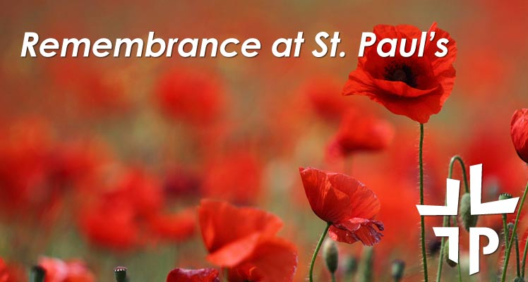 Remembrance at St. Paul's Newmarket